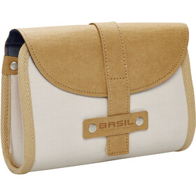 Basil Portland Bike Pannier beige/brown
